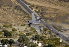 HAMLET (Dafydd RJ Phillips) Tags: panamint valley death california usa dutch air force royal netherlands edwards afb test evaluation 323 tes sqn springs squadron low level jet fighter