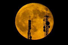 DSC_6279 (Jesus DTT) Tags: lunallena antenas atalaya siluetas contraluz