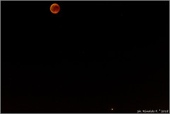 redmoon&mars@27July18.naples.it (Rinaldofr) Tags: canon6dmkii canon70200f4l kenko14xdgxpro300 moon redmoon eclipse 27july2018 red stars mars night