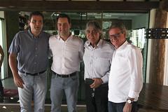 Reunião na Associação Comercial e Empresarial - Loanda