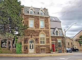 Fergus  Ontario -  Canada - Dr. Abraham Groves Building _ Historic