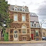 Fergus  Ontario -  Canada - Dr. Abraham Groves Building _ Historic thumbnail