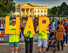 White House Sunset (Mobilus In Mobili) Tags: kremlinannex dc trump washington liar whitehouse districtofcolumbia unitedstates us treason