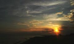 🌅 (__jo_) Tags: sun sunset cloud clouds sky skyporn colors color colours colour beachlife beach sea seaside sealife summer summervibes greece greeksummer greek keramoti kavala hellas macedonia vacation photography photo pic