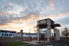 Equipo Media Free To Use Stock Photos (EquipoMedia) Tags: the human bean coffee stand medford sunset southern oregon entrepreneur chain franchise drive thru