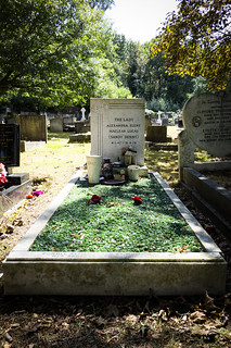 Grave of Sandy Denny, Putney Vale Cemetery