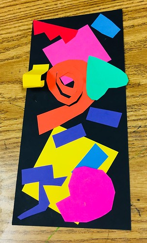 """2nd grade Matisse Cutouts • <a style=""""font-size:0.8em;"""" href=""""http://www.flickr.com/photos/57802765@N07/43775681081/"""" target=""""_blank"""">View on Flickr</a>"""