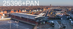 robfrance5d2_25396_25397pan_040218_blackpool_north_eng_inf_edr16lr6pse15weblowres (RF_1) Tags: 2018 blackpoolnorth contractor contractors electrification engineering england fylde gnrp greatnorthrailproject infrastructure lancashire maintain maintaining maintenance murphy networkrail prestonblackpool rail railroad rails railway railways renewal repair repairers repairing repairs station track trackwork trackworkers tracks trackworks trains transport uk unitedkingdom work workmen worker workers working works