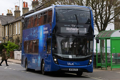 HF66 CFU, North Walls, Winchester, March 19th 2017 (Southsea_Matt) Tags: hf66cfu 1645 route1 goahead bluestar alexanderdennis enviro400 mmc adl e400 northwalls winchester hampshire england unitedkingdom publictransport passengertransport bus omnibus vehicle march 2017 spring canon 80d sigma 1850mm