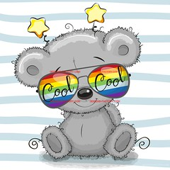 Cute Teddy Bear with sun glasses (designfactory1066) Tags: teddy bear gray pets cool vector cute illustration cartoon animal design print fashion funny shirt graphic isolated art boy drawn background card greeting cutie nice drawing character style glasses hand sketch portrait beautiful child sun head girl baby kids face girls