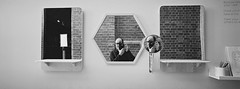 Draw Yoursefie (@fotodudenz) Tags: selfie self portrait hasselblad xpan film rangefinder ultra wide angle 30mm bendigo art gallery victoria australia 2018 matthew robert joseph fotodudenz mirror panorama panoramic draw yourself ilford xp2 super