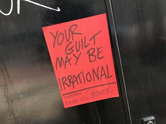 Your guilt may be irrational (Matt From London) Tags: notestostrangers guilt irrational