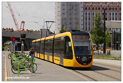 Tram Budapest - 2018-27 (olherfoto) Tags: tram tramcar strasenbahn bkv budapest caf urbos