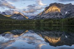 Wedge Pond, early morning (birgitmischewski) Tags: wedgepond kananaskiscountry alberta