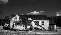 Closing Sale - 60% Off (Dalliance with Light (Andy Farmer)) Tags: mitakon35mmf095 building monochrome old house weathered runddown nj bw eastbrunswick dilapidated decay newjersey unitedstates us
