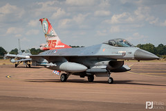 Royal Netherlands Air Force F-16AM J-879 (philrdjones) Tags: 2018 airshow egva f16 f16am ffd fairford generaldynamics j879 july lockheedmartin raffairford riat rnethaf royalinternationalairtattoo royalnetherlandsairforce