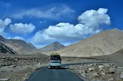 Landscape from Ladakh (pallab seth) Tags: landscape autumn fall nature colour highway kashmir india ladakh nubravalley valley jammukashmir color mountains himalayas pangongtso
