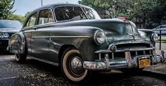 1949 Chevy Fleetline DeLuxe (AMRosario) Tags: brooklyn flatbush vintage lightroom chevy classic car automobile 7artisans auto cars fujifilm kensington urban xt20 streets