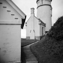 Haceta Head Light (LowerDarnley) Tags: holga hacetahead or oregon oregoncoast northwest lighthouse florence
