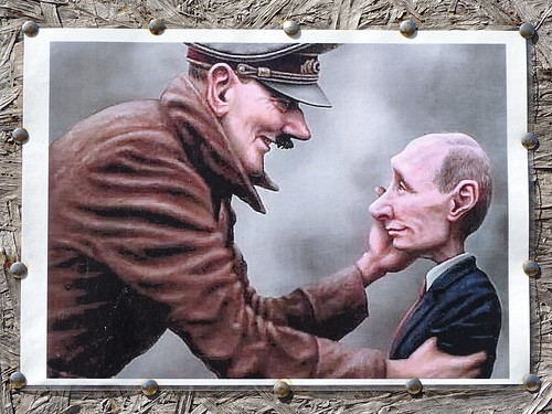 Hitler with Putin, From FlickrPhotos