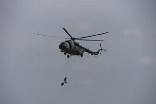 Helicopter MIL MI-171 Hip-H Czech Air Force tijdens de Texel Airshow 04-08-2018