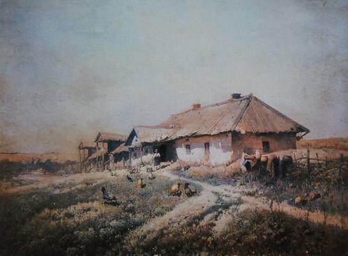 Художник Петро Левченко. Корчма.