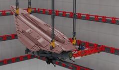Efrikkan Fighting Machine (John Moffatt) Tags: lego digital designer mecabricks tripod walker war worlds vab