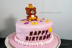 Rilakkuma bear Birthday Cake (Anne and Ray) Tags: dessert cake