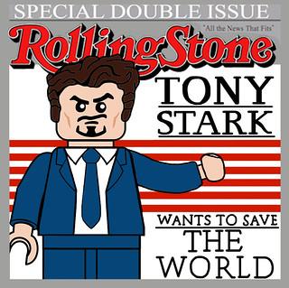 Tony Stark Rolling Stone