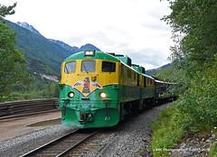 In Flight (GRNDMND) Tags: trains railroads white pass yukon whitepassyukonrailroad wpyr locomotive ge skagway alaska
