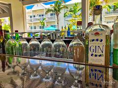 Key West Bar Reflection (Andrea Garza ~) Tags: florida keywest gin liquor alcohol themarkerhotel floridakeys bar paradise hotel reflection party vacation tropical beachbar