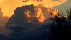 Monsoon storm abrewing (jimsc) Tags: thunderhead cloud storm monsoon arizona pimacounty tucson catalina desert sonorandesert summer july ngc skyscape skycolors evening skyshow panasonic lumix fz200 jimsc