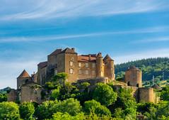 Château de Berzé-le-Châtel (Scottmh) Tags: 2018 berzélechâtel château europe d7100 france june nikon summer travel