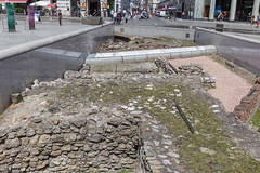 Dig at Michaelerplatz in Vienna