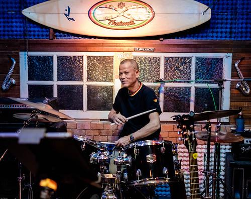 ACE PARU with drums