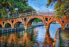 A Digital Painting of the Whalehead Bridge in Corolla Park, OBX (PhotosToArtByMike) Tags: whaleheadbridge historiccorollapark digitalpainting digitalart painting photopainting corollanorthcarolina outerbanks obx whaleheadclubwoodenbridge sunset northcarolina corollapark atlanticocean nc museum outerbanksnorthcarolina curritucksound woodenbridge sanddunes earlymorning light