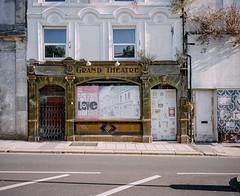 Grand Theatre (@davidflem) Tags: plymouth devon mamiya7 65mm kodak portra400 120film mediumformat 6x7 filmphotography istillshootfilm