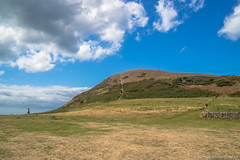 It's steeper than it looks (Eiona R.) Tags: yferwig wales unitedkingdom gb mwnt coast ceredigion wfc