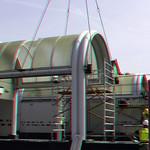 Sloop dak metro Alexander Rotterdam 3D thumbnail