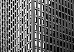Around the corner (YIP2) Tags: window windows facade abstract minimal minimalism simple less line linea detail pattern lines geometry design architecture building repetition bw diagonal blackandwhite monochrome
