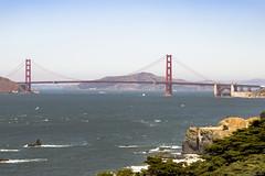 Golden Gate Bridge (Kunal Baweja) Tags: tour tourism tourist ecotourism worldtour travel worldtravel trip canon daylight sanfrancisco usa unitedstates goldengatebridge bridge bridges goldengate california