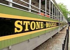 Now Arriving (John Rosemeyer) Tags: stonemountainrailroad stonemountainpark stonemountain stone mountain park georgia