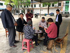 Local Card Game (cowyeow) Tags: street composition travel china chinese asia asian hunan village city rural smile smiles people card cards game playing cardgame poker gathering friends together