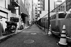 Ginza behind the scenes-7 (tokyobogue) Tags: tokyo japan ginza nikon nikond7100 d7100 sigma sigma1750mmexdcoshsm behind backstreets street streetphotography urban city blackandwhite blackwhite monochrome