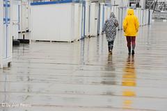 regen-in-Wimereux (Don Pedro de Carrion de los Condes !) Tags: donpedro regen reflectie opaalkust dijk boulevard dijkhuisjes regenkleding wandelen recreatie pasdecalais hauts de france
