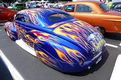 1940 Mercury (bballchico) Tags: 1940 mercury coupe jeremyschram chopped custom flames customcarrevival carshow indianapolisindiana