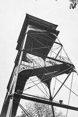 Rickety Tower (alt7516) Tags: canon canonet ql17 film filmphotography blackandwhite monochrome ilford delta400
