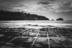 Tessellated (jenni 101) Tags: tasmania landscape longexposure monochome photographybyjen sigmaart18