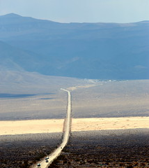 The 190 (PeskyMesky) Tags: 190 deathvalley california road landscape mountain canon canon6d