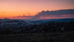 Wildfire to the North (San Francisco Gal) Tags: rockymountainnationalpark rmnp badgercreekfire wildfire smoke cloud bluehour mountain colorado wyoming